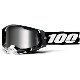 100% Racecraft Anti-Fog Goggles Gen2, black/mirror